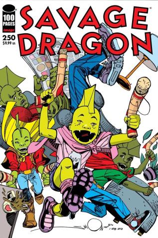 Savage Dragon #250 (Simonson Cover)