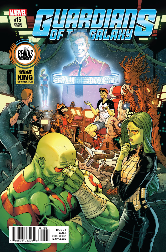 Guardians of the Galaxy #15 (Best Bendis Moments Cover)