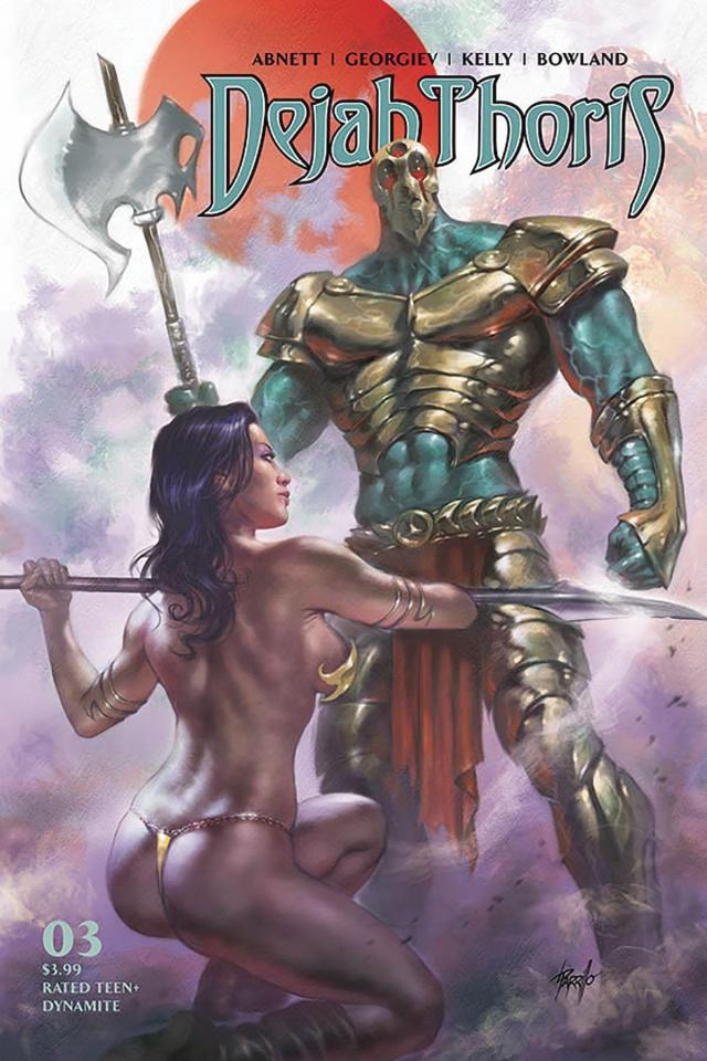 Dejah Thoris #3 (Parrillo Cover)