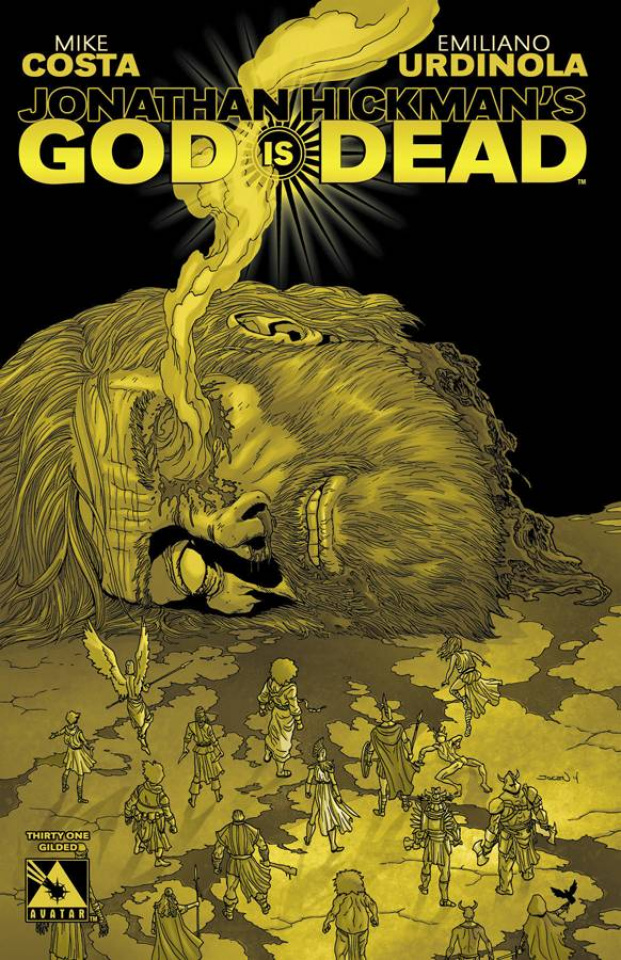 God Is Dead #31 (Gilded Retailer Cover)