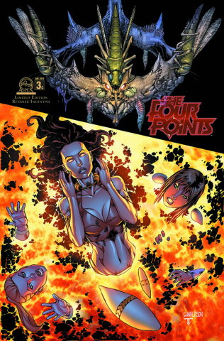 The Four Points #3 (10 Copy Cover)
