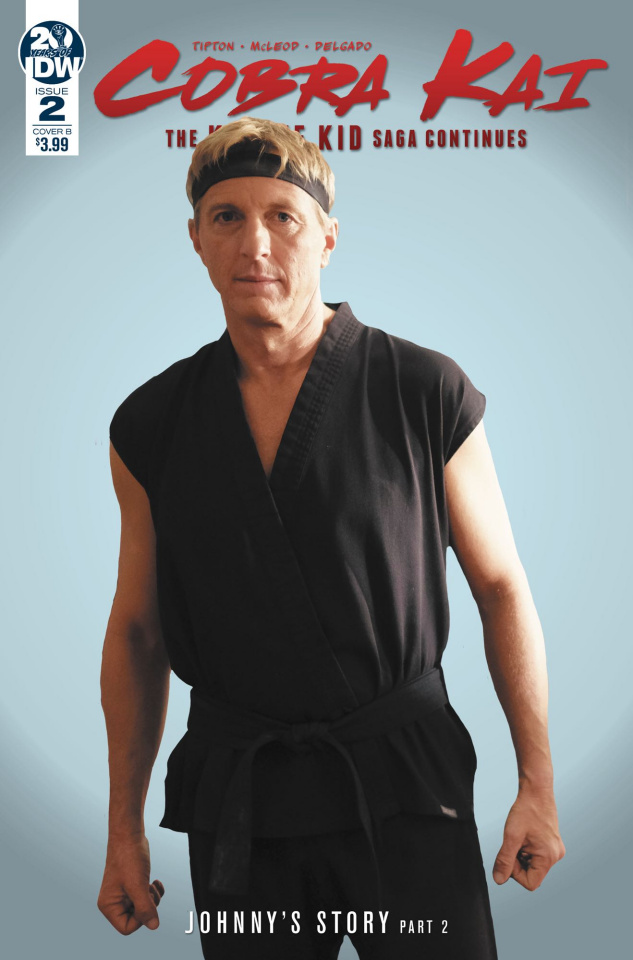 Cobra Kai: The Karate Kid Saga Continues #2 (Photo Cover)
