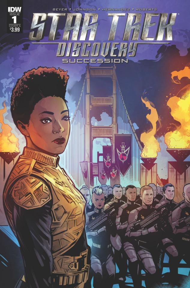 Star Trek: Discovery - Succession #1 (Hernandez Cover)