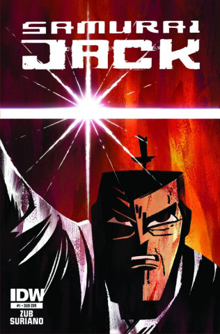 Samurai Jack #1 (Subscription Cover)