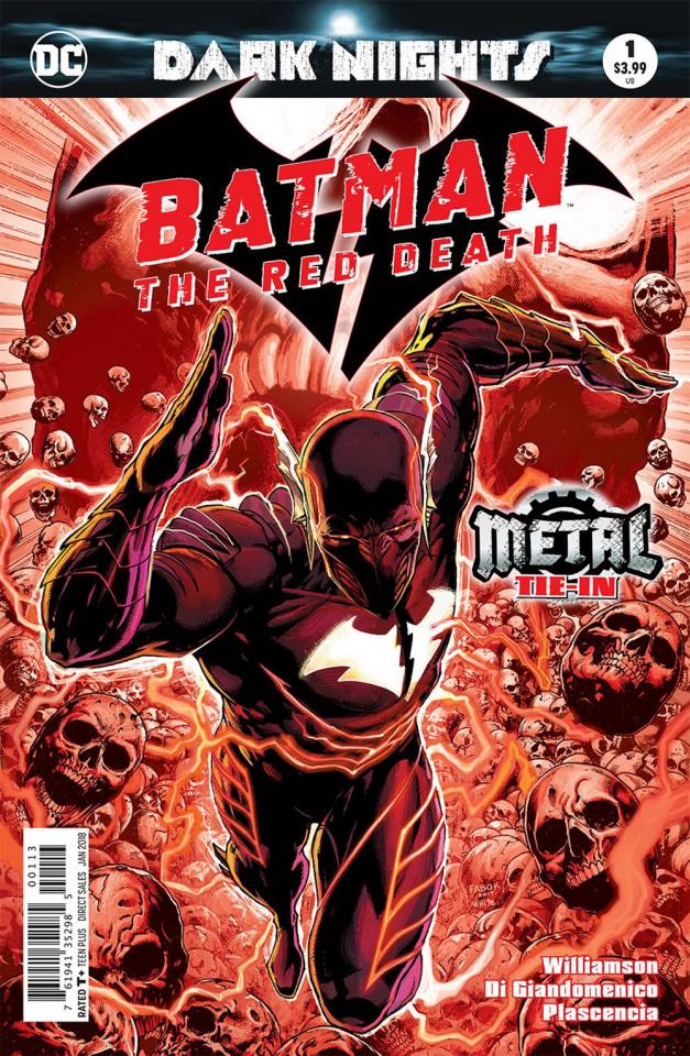 Batman: The Red Death #1 (Metal 3rd Printing)