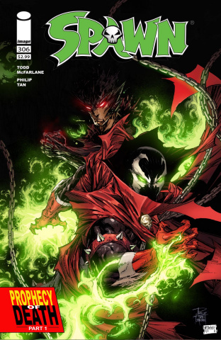 Spawn #306 (Tan & McFarlane Cover)