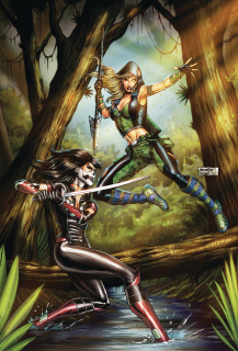 Robyn Hood: The Hunt #5 (Goh Cover)