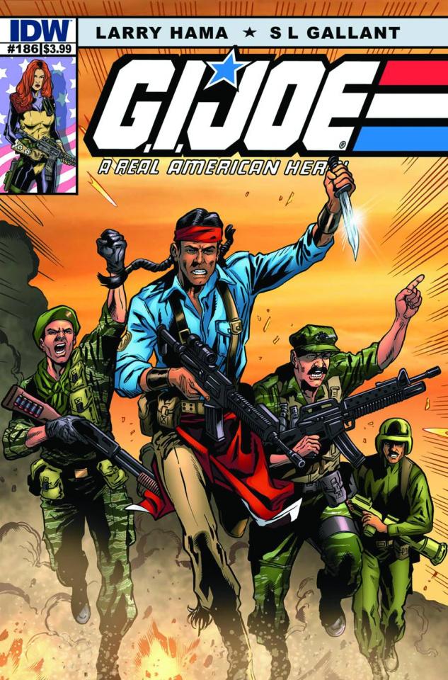G.I. Joe: A Real American Hero #186