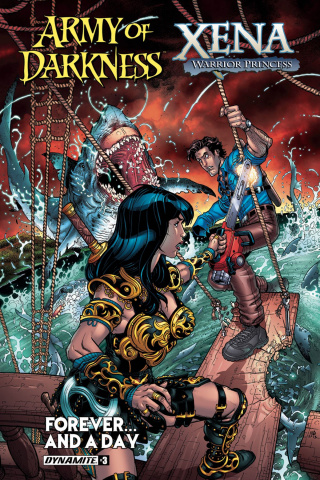 Army of Darkness / Xena: Forever... And a Day #3 (Bradshaw Cover)