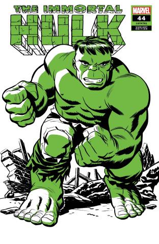 The Immortal Hulk #44 (Michael Cho Hulk Two-Tone Cover)