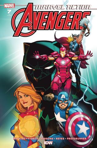 Marvel Action: Avengers #7 (10 Copy Harvey Cover)