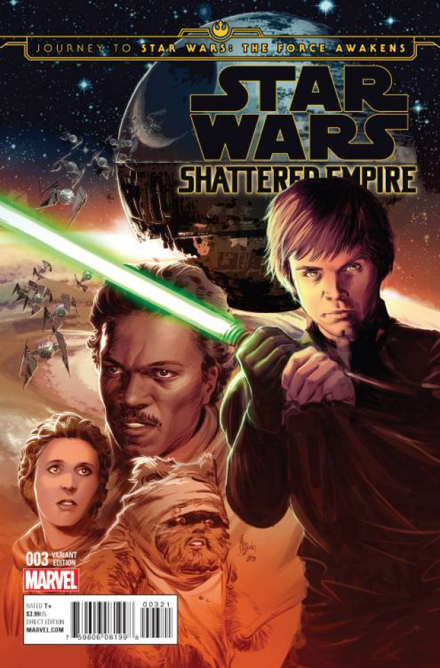 Journey to Star Wars: The Force Awakens - Shattered Empire #3 (Deodato Cover)