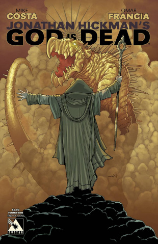 God Is Dead #14 (End of Days Cover)