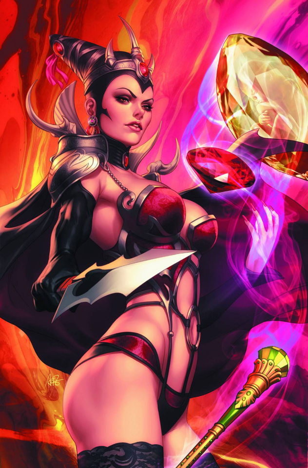 Grimm Fairy Tales #99 (Artgerm Cover)