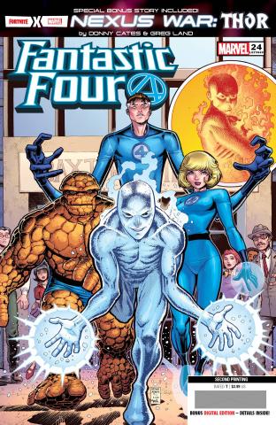Fantastic Four #24 (Adams 2nd Printing)