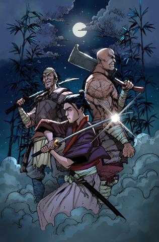 Ronin Island #6 (Miyazawa Cover)