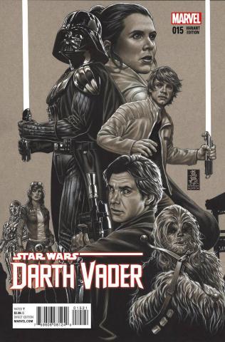 Darth Vader #15 (Brooks Sketch Cover)