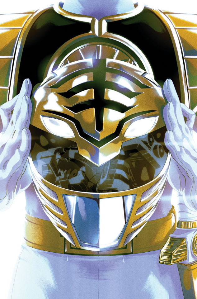 Mighty Morphin' Power Rangers #40 (Preorder Foil Montes Cover)