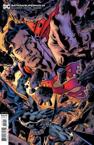 Batman / Superman #14 (Bryan Hitch Cover)