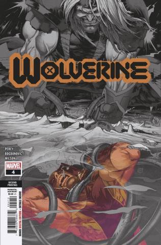 Wolverine #4 (2nd Printing)
