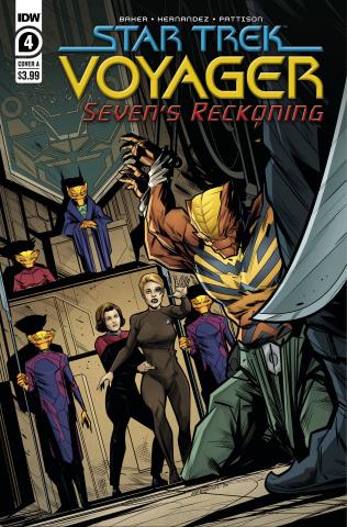 Star Trek: Voyager - Seven's Reckoning #4 (Hernandez Cover)