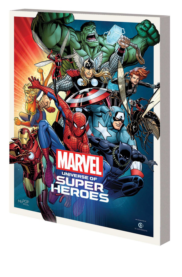 Marvel Universe of Super Heroes - Museum Exhibit Guide