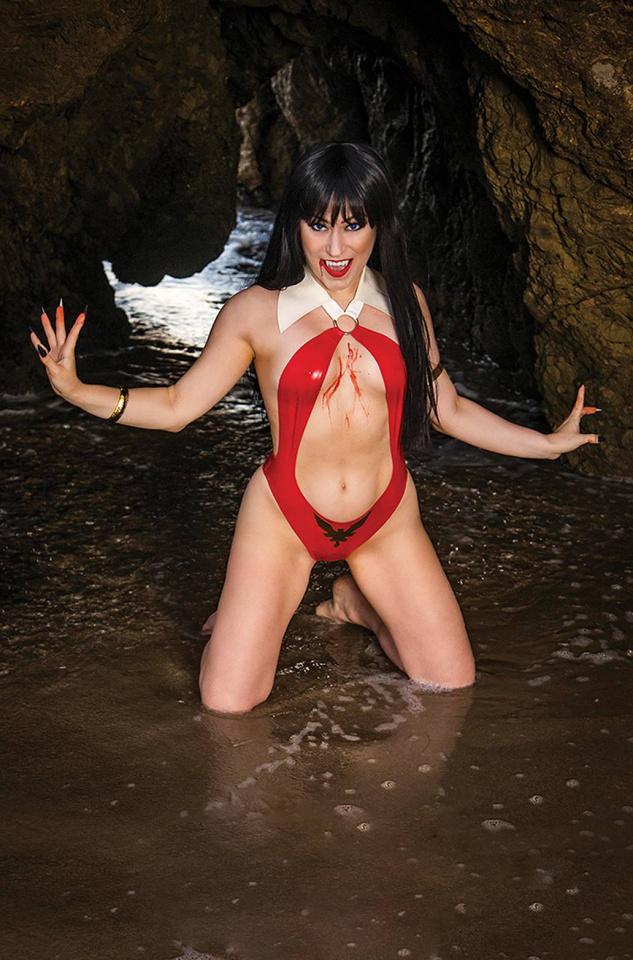 Vengeance of Vampirella #16 (20 Copy Cosplay Virgin Cover)