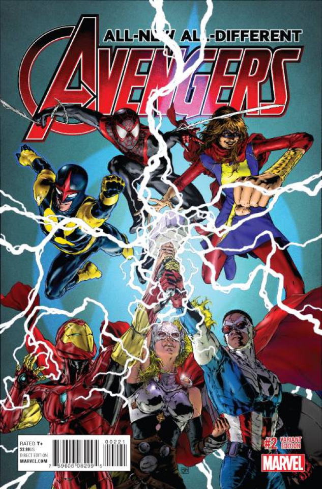 All-New All-Different Avengers #2 (Jimenez Cover)