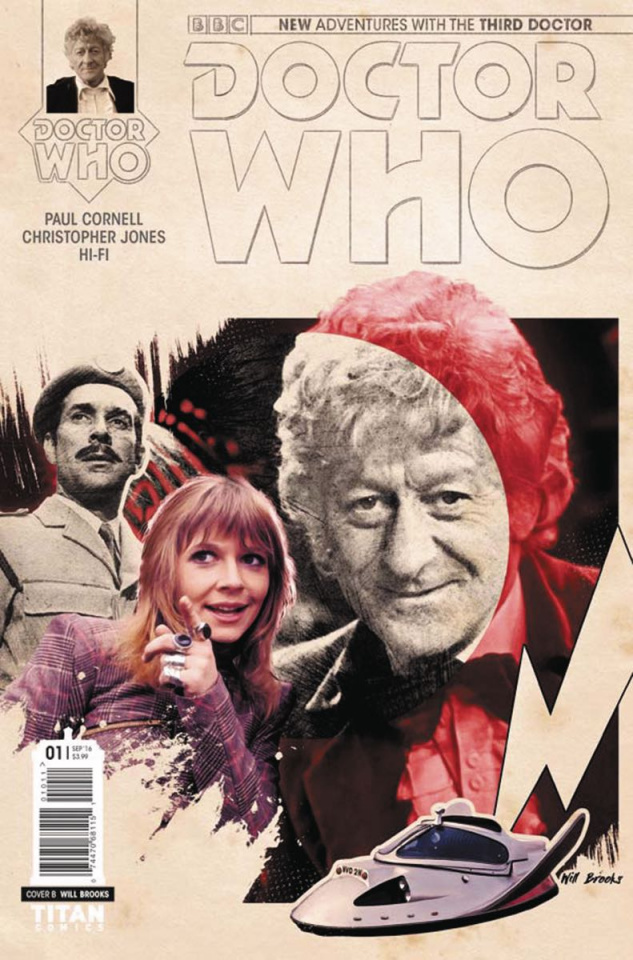Doctor Who: New Adventures with the Third Doctor #2 (Photo Cover)
