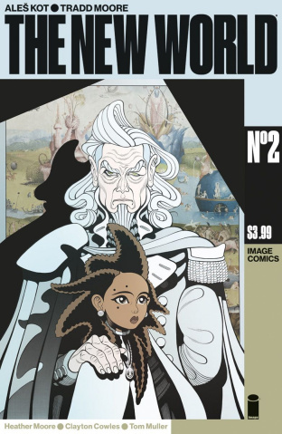 The New World #2 (Moore & Muller Cover)