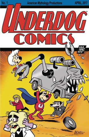Underdog #1 (Classic Homage Galvan Cover)