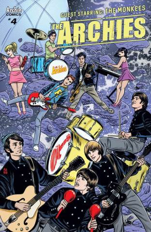 The Archies #4 (Allred & Martin Cover)