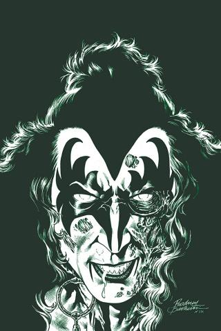 KISS: Zombies #2 (25 Copy Buchemi Virgin Tint Cover)