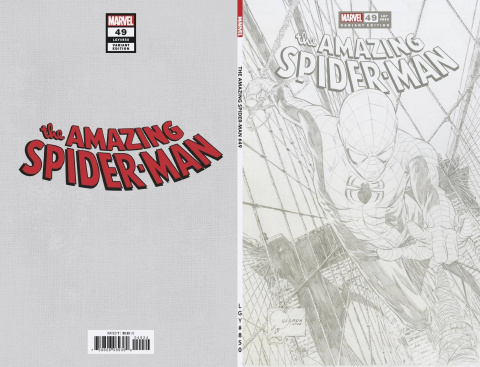 The Amazing Spider-Man #49 (Quesada Sketch Cover)