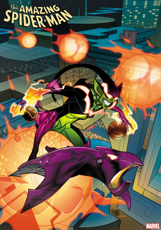 The Amazing Spider-Man #34 (Ferry 2099 Cover)