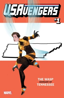 U.S.Avengers #1 (Reis Tennessess State Cover)