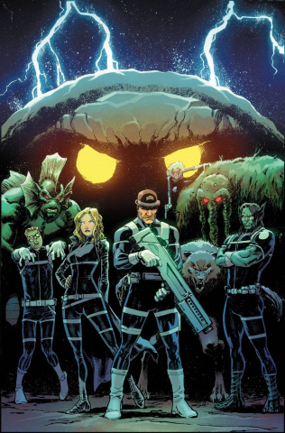 The Howling Commandos of S.H.I.E.L.D. #3 (Marquez Cover)