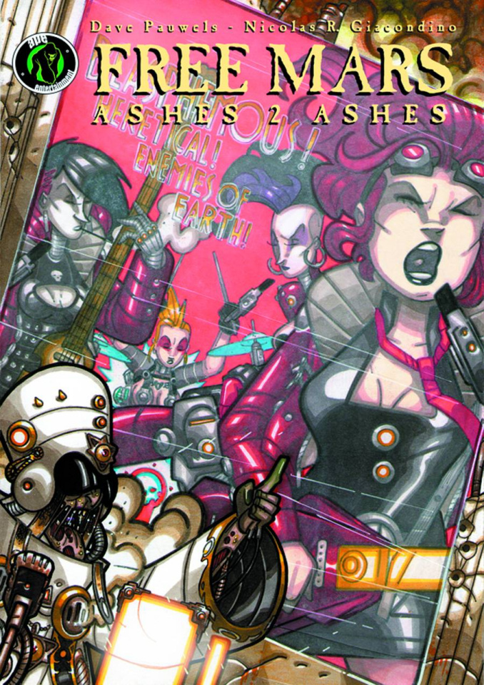 Free Mars Vol. 2: Ashes 2 Ashes