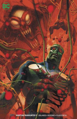 Martian Manhunter #9 (Variant Cover)