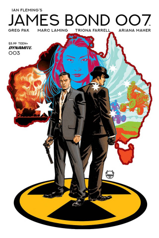 James Bond: 007 #3 (Johnson Cover)