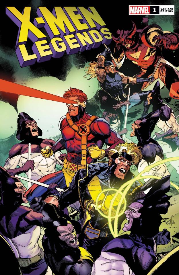 X-Men Legends #1 (Yu Cover)