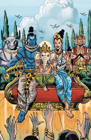 The Legends of the Eternal Myths of India