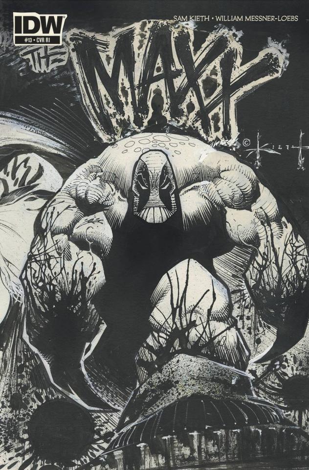 The Maxx: Maxximized #13 (10 Copy Cover)