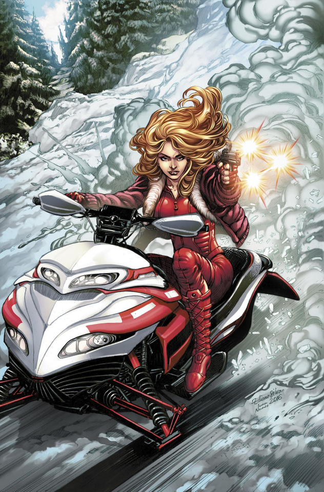 Grimm Fairy Tales: Red Agent - The Human Order #6 (Silva Cover)