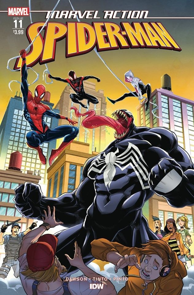 Marvel Action: Spider-Man #11 (Tinto Cover)