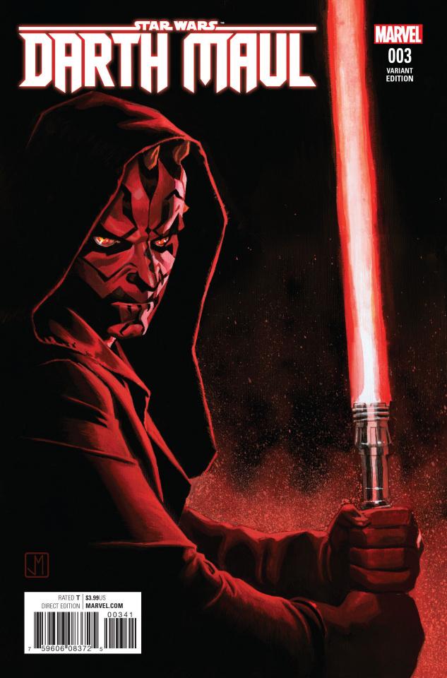 Star Wars: Darth Maul #3 (Shalvey Cover)