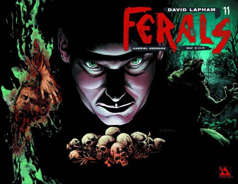 Ferals #11 (Wrap Cover)