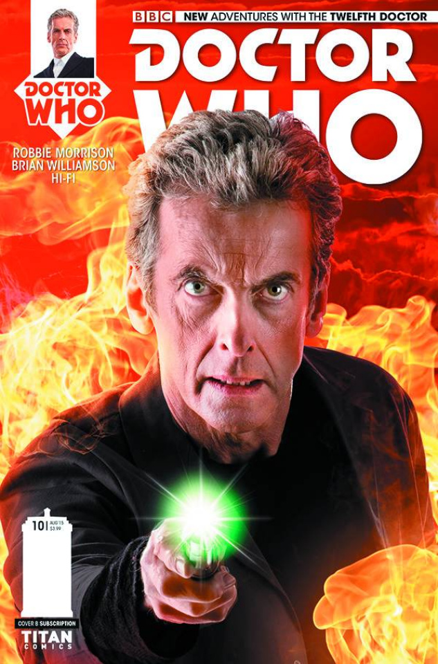 Doctor Who: New Adventures with the Twelfth Doctor #10 (Subscription Photo Cover)