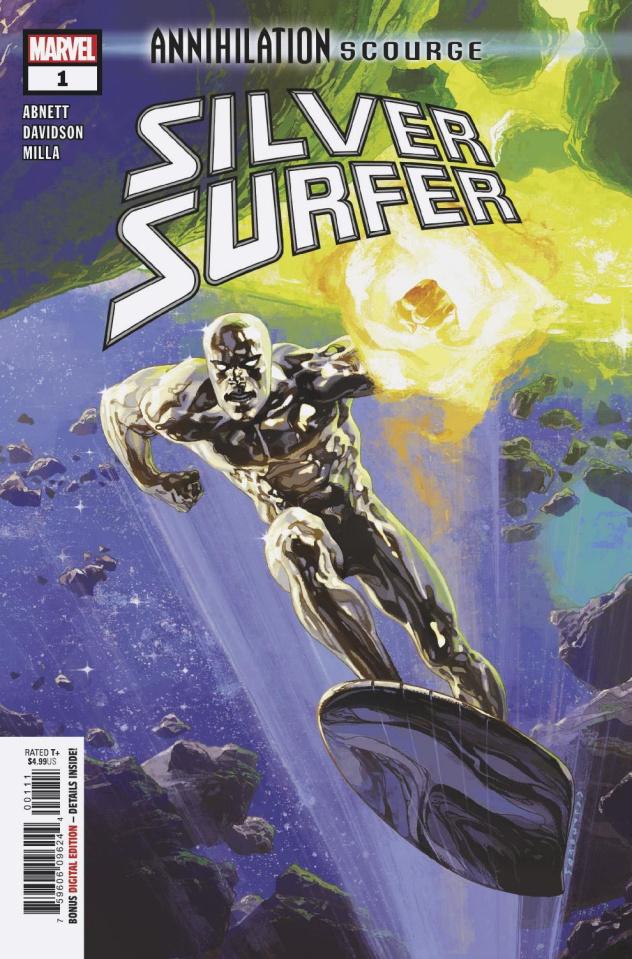 Annihilation: Scourge - Silver Surfer #1
