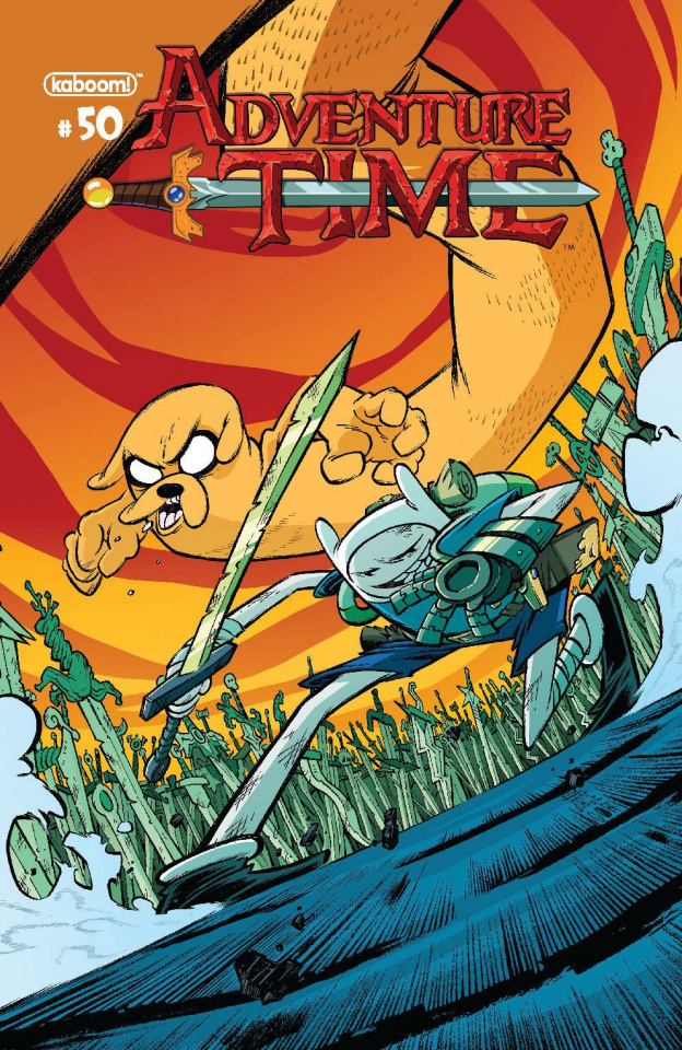 Adventure Time #50 (Subscription Corona Cover)